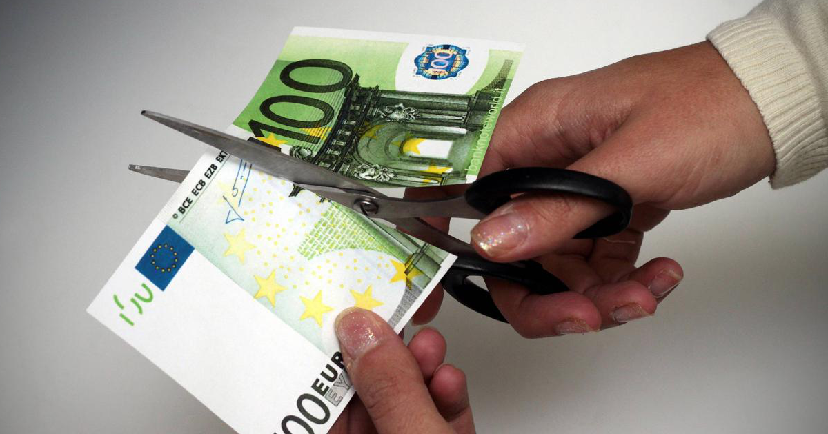 tagli banconote